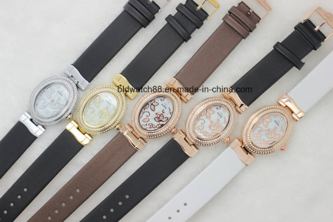 2017 Hot Sale Watch Leather Women Fashion Dress Watch Luxury