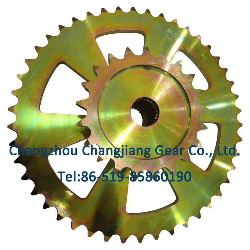 Agricultural Parts Cast Iron Motorcycle Sprocket