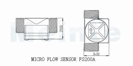 Water Flow Sensor (FS200A)