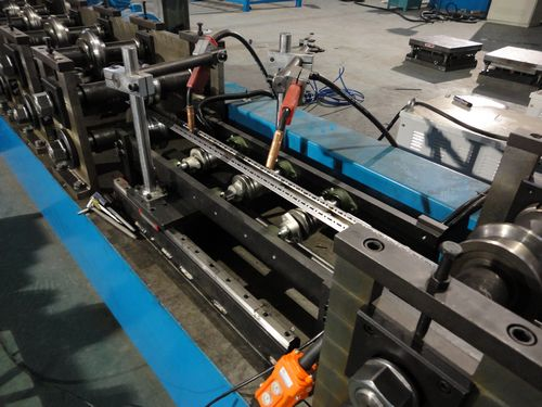 Egypt Electrical Cabinet Rack Roll Forming Production Line Machine