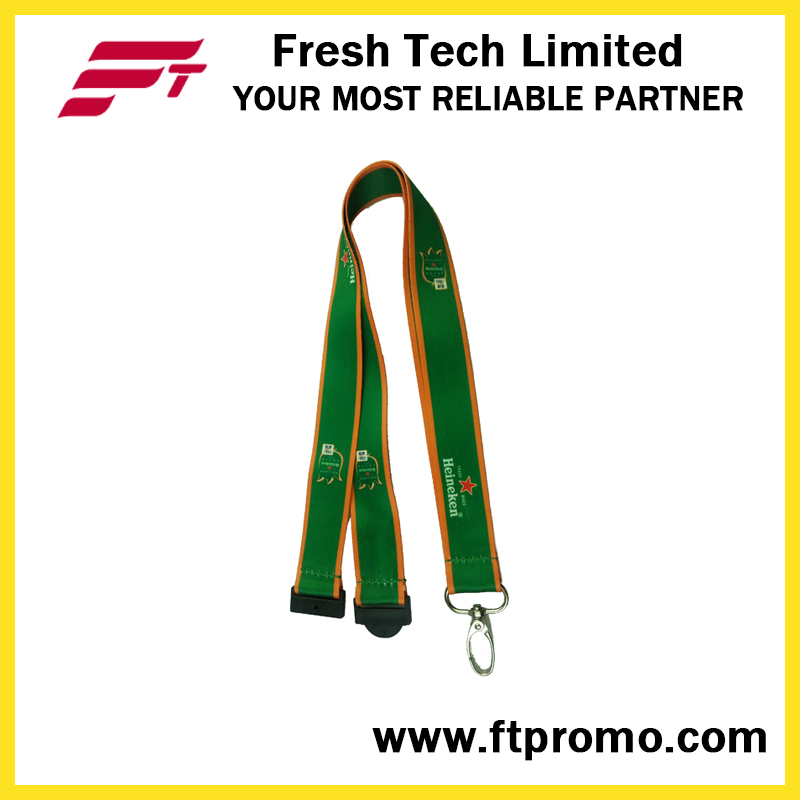 China Cheap Polyester Lanyard with Logo