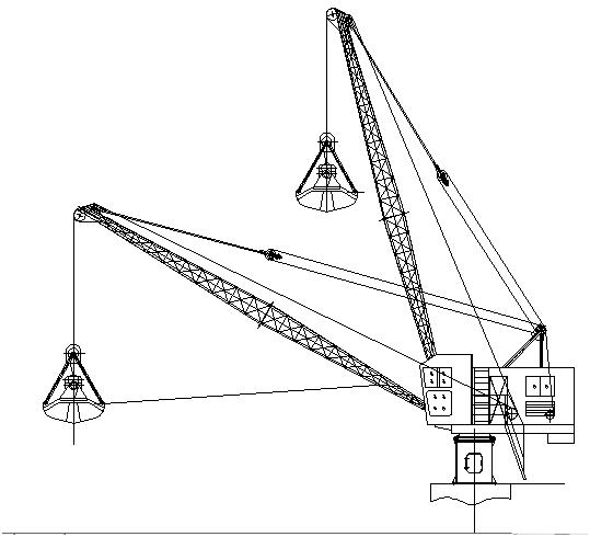 5t30m Portal/Jetty/Harbor Fix Crane