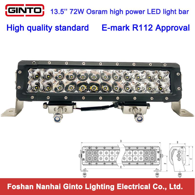 New Best Selling 120W 21.5'' 12V 24V LED Light Bar