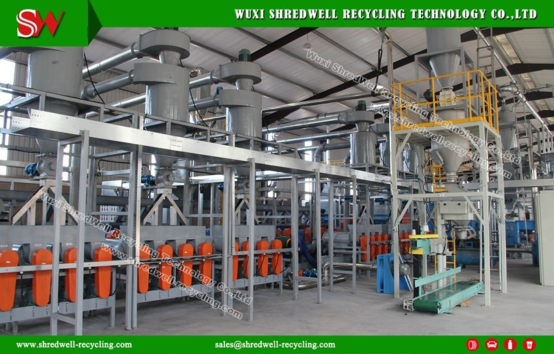 High Quality Rubber Pulverizer Machine for Recycling Waste Tire