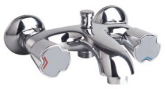 Double Handle Shower Faucet (BM56901)