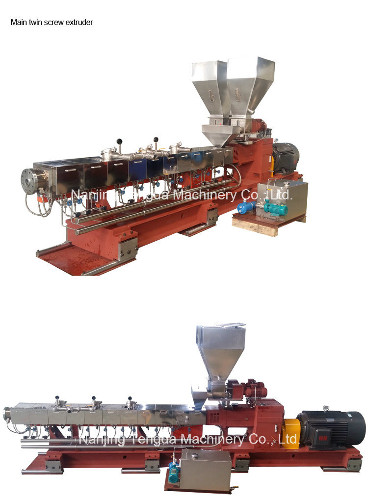 Fully Automatic High -Torque Twin Screw Extruder