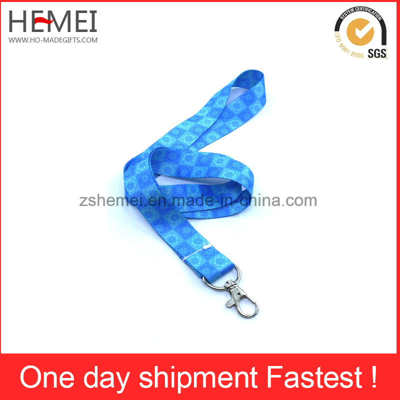 Custom Polyester Lanyard, Ribbon with Plastic Attachment