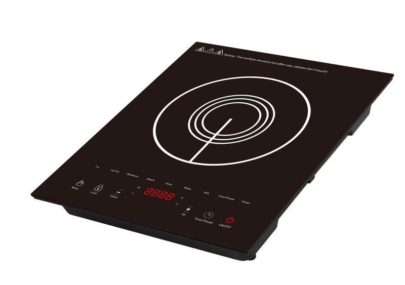 Kitchen Appliance 120V 1500W ETL 4 Digit Display Electric Induction Cooker