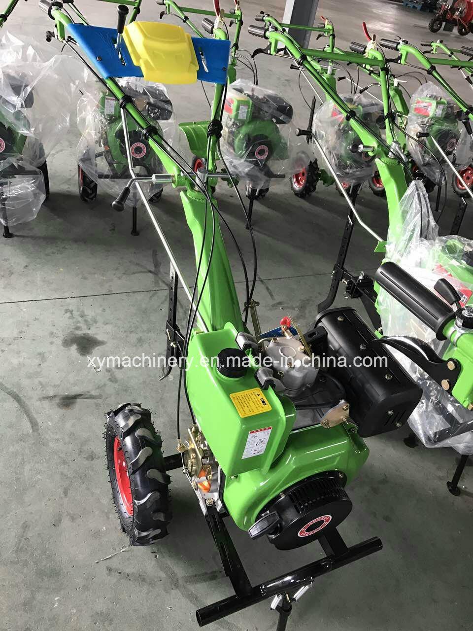 Multi-Fuction Cultivator Tiller, Rotary Cultivator, Diesel Power Tiller
