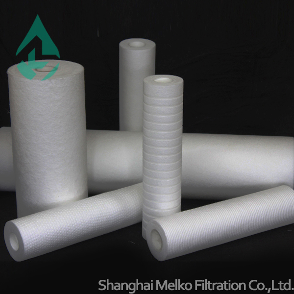 PP Melt Blown Filter Cartridge / RO Parts for Liquid Filtration