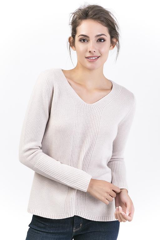 Women's V Neck Pullovers