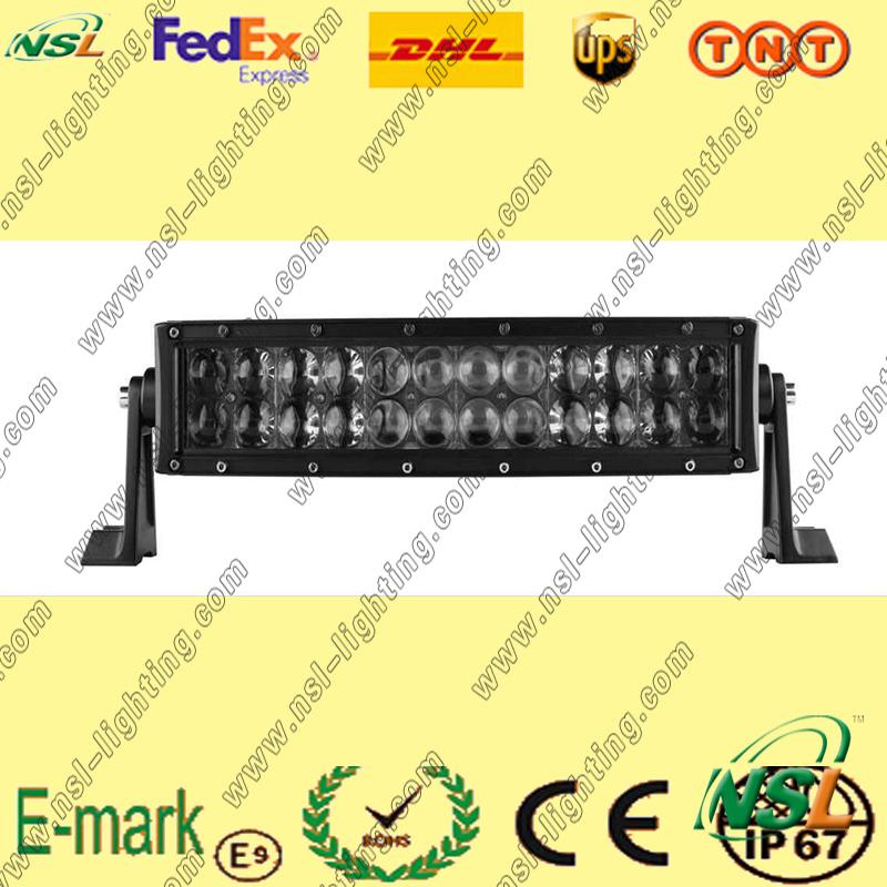 200W LED Osram Light Bar, 4D LED Lens 5W Osram LED Light Bar