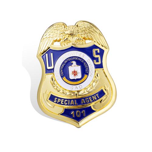 Gold Plated Organizational Pins, Military Badge (GZHY-BADGE-001)