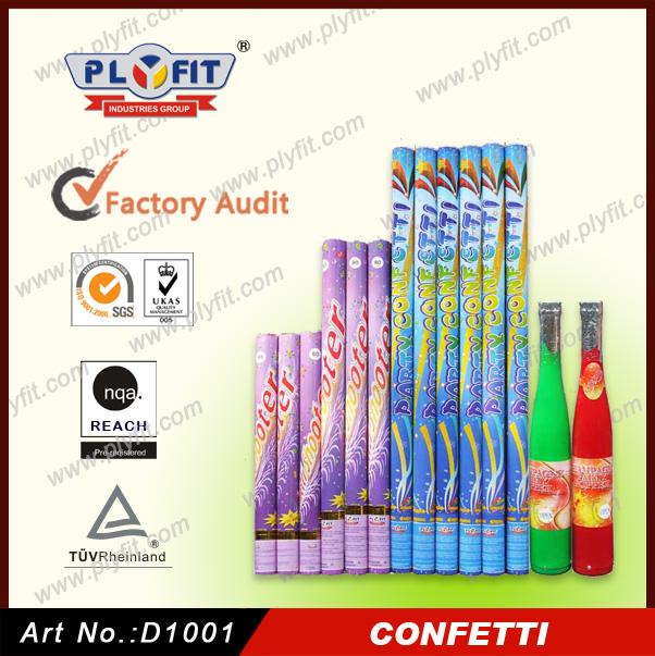 Colorful Wedding Decoration Confetti Paper Popper