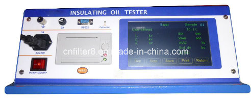 ASTM D1816 Fully Automatic Insulating Oil Tester (DYT-2)