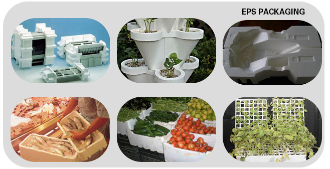 EPS Automatic Vacuum Shape Moulding Machine Protection Packaging Box Machine
