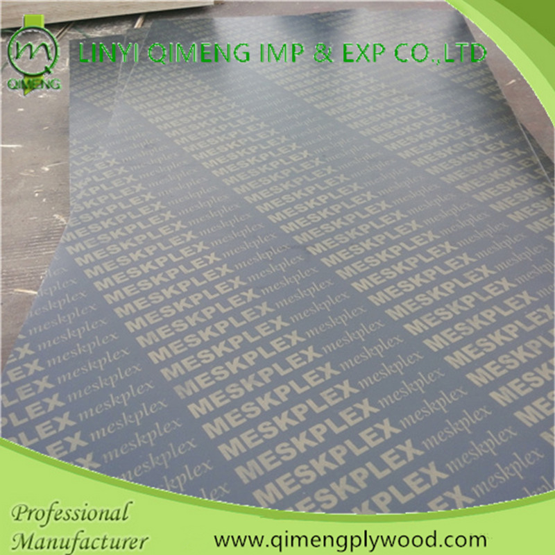 One Time Hot Press Recycled Core Film Faced Plywood with Low Price
