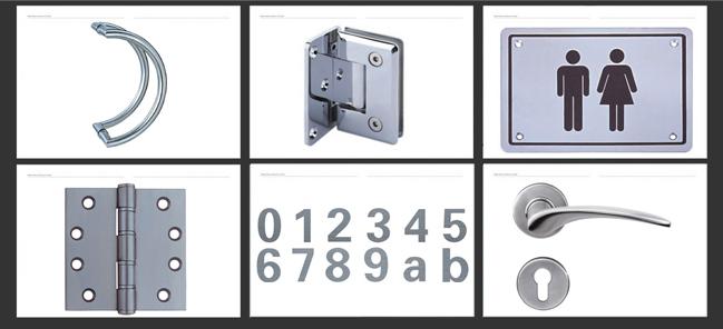 Bathroom Wc Door Knob Wc Thumb Turn Indicator