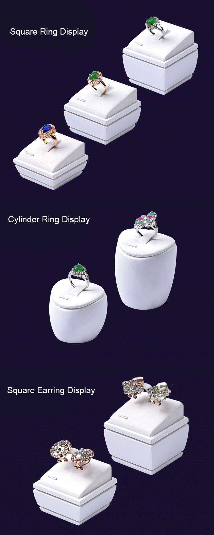 Jewelry Counter Display Sets For Jewelry Shop