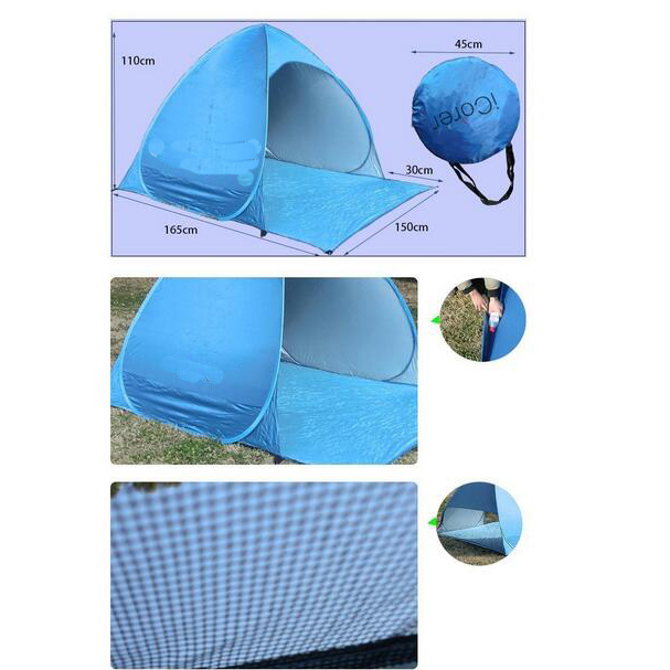 Pop up Instant Portable Outdoors Beacht Sun Shelter Tent