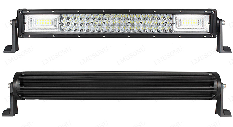 20 Inch 324W off Road LED Light Bar Three Rows
