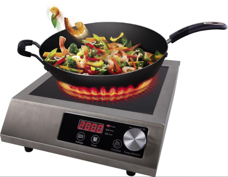 Ce/RoHS//ETL Approval 3500W Commercial Induction Stove Sm-A80
