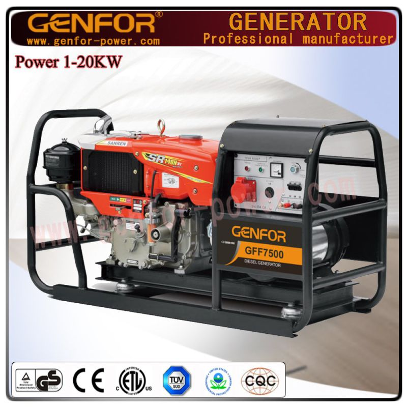 Factory Direct Sale Diesel Generator Genfor Generator Set 5kw