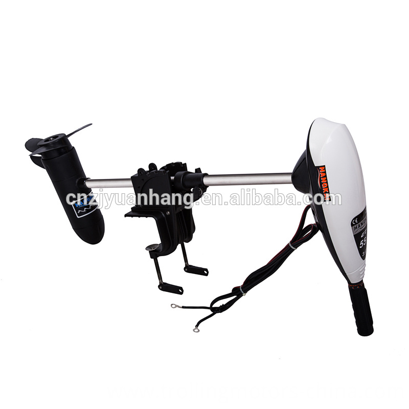 New type electric fishing boat outboard trolling motor for Electric trolling motor battery size