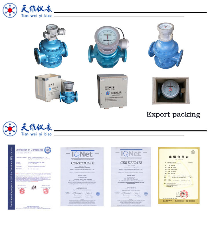 Gas Oil PD Flowmeter