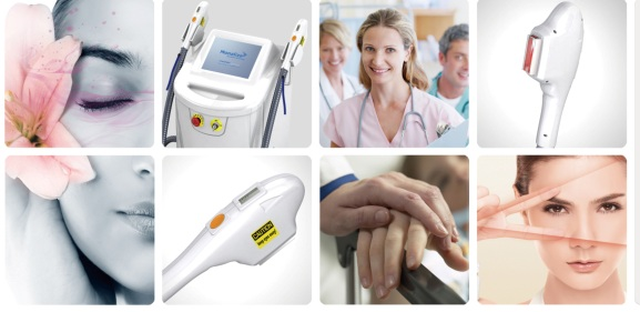 IPL Shr Device for Hair Removal and Acne Removal Beauty Machine by Apolomed