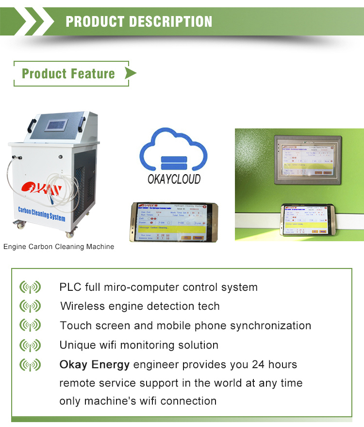 Professional Engine Diagnostic Tool Mobile Hho Car Engine Carbon Cleaner