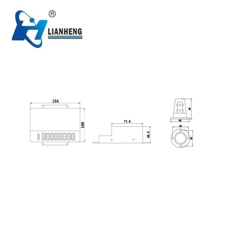 Strobe Hideaway Warning Light (LTDG91)