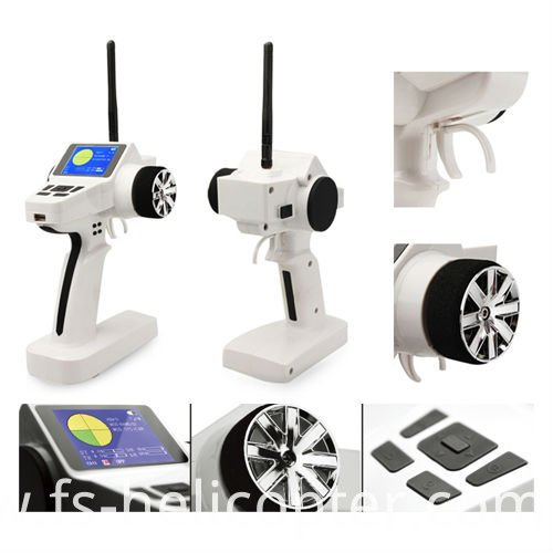 2.4G 3CH Radio Control System Transmitter with Receiver Box