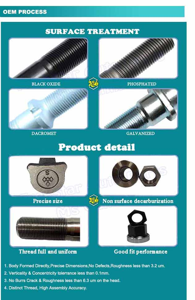 High Tensile Double Threaded Screw/Double Hex Bolt