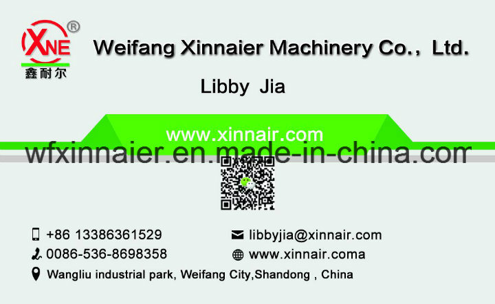 Weifang Xinnaier Manufacturer Provide Hydraulic Small Round Hay Baler with Factory Price