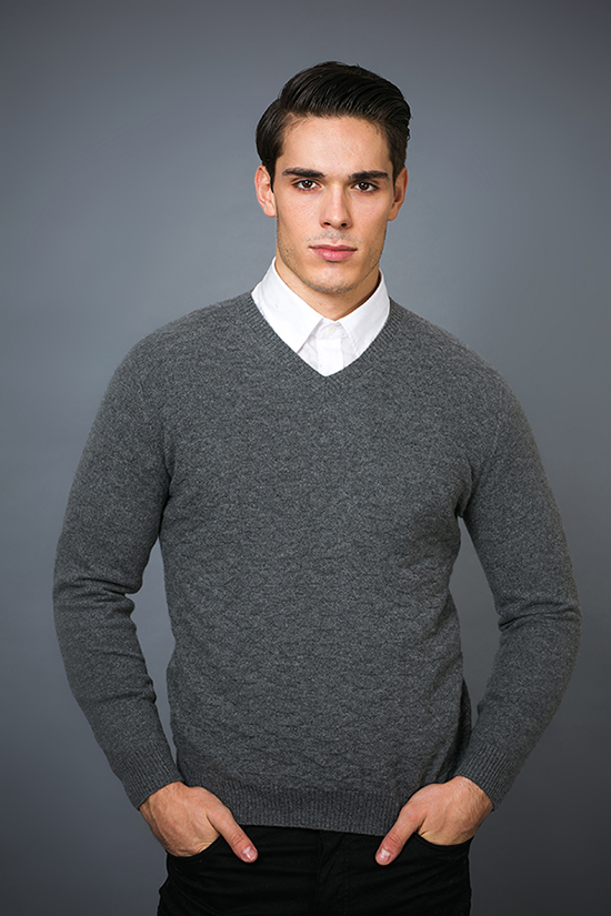 Men′ S Fashion Cashmere Sweater 17brpv071
