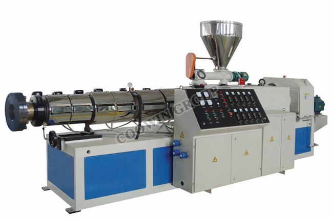 PE WPC Board Profile Extrusion Machine, Wood Plastic Composite Extruder