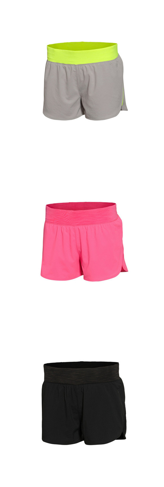 Wholesale Breathable Women Sports Wear Running Shorts