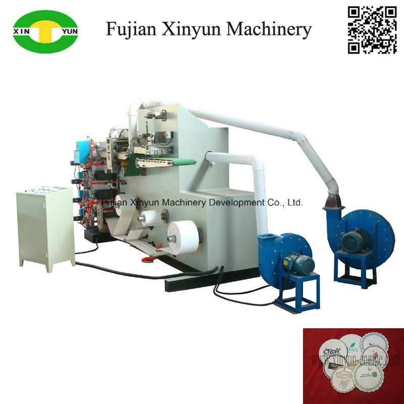 Automatic Colorful Paper Cup Pad/ Coaster Printing Machine Price