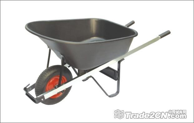 Heavy Duty Wood Handle Garden Wheel Barrow Wh6601