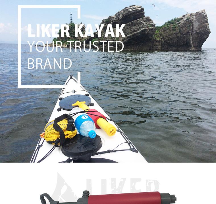 Hand Bilge Pump for Kayak Use