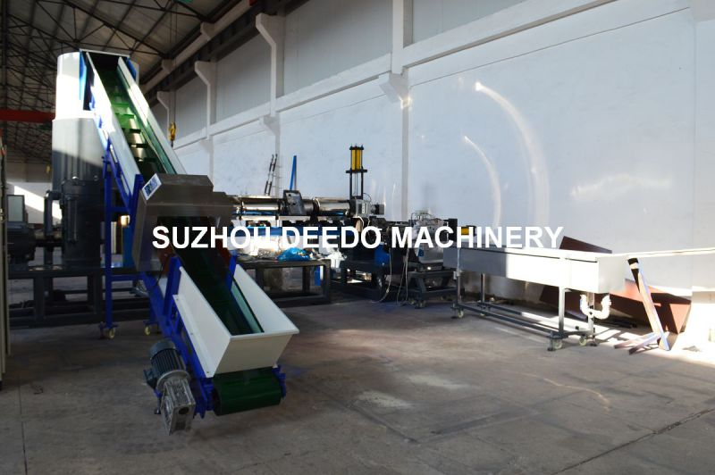 Waste Plastic Recycling Granlator Machine