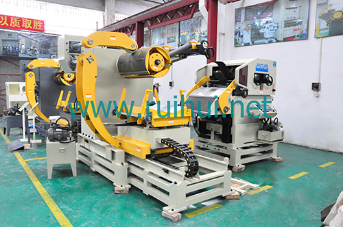 Coil Sheet Automatic Feeder with Straightener for Press Line (MAC1-400F-1)