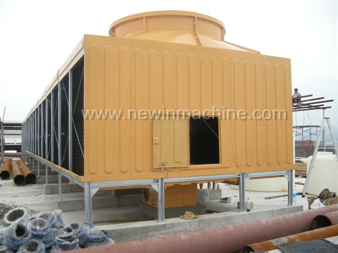 FRP Square Cross Flow Cooling Tower (NST-800/M)