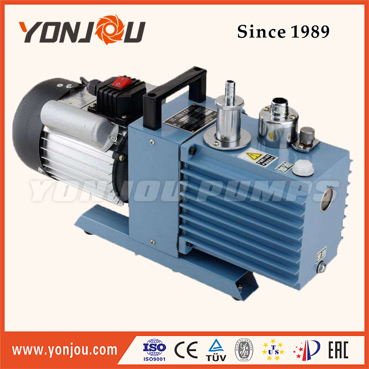 Double Stage Oil Lubricated Small Rotary Vane Vacuum Pump, 2xz Series