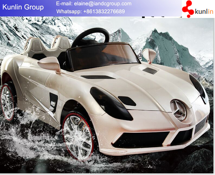 R/C Control Drivable Toy Mercedes Electric Car for Children
