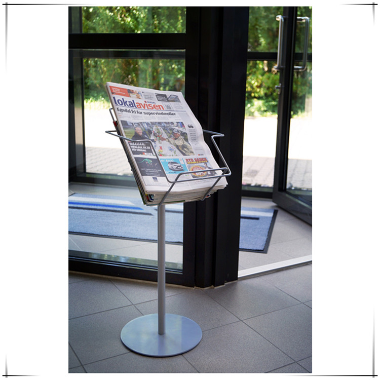 Metal Frame Manufacturers Aluminum Double Side Snap Frame Display Stand