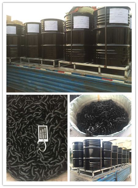 Factory Price Alloy Steel Marine Studless Link Anchor Chain