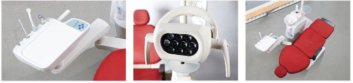 Europe Type High Grade Dental Chair Unit