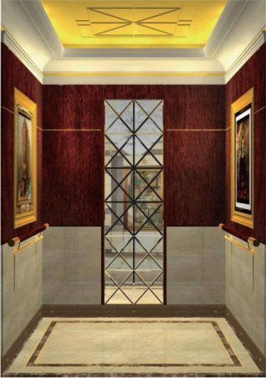 Passenger Elevator Lift Mirror Etched Mr & Mrl Aksen Hl-X-049